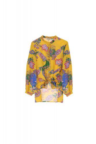 dixie CDH9PRL 1205 camicia donna giallo