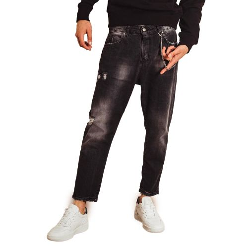 berna jeans uomo nero M 215032