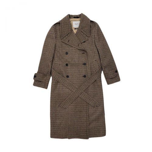palto' maddalena vichy donna cappotto B11PDMADDVIC