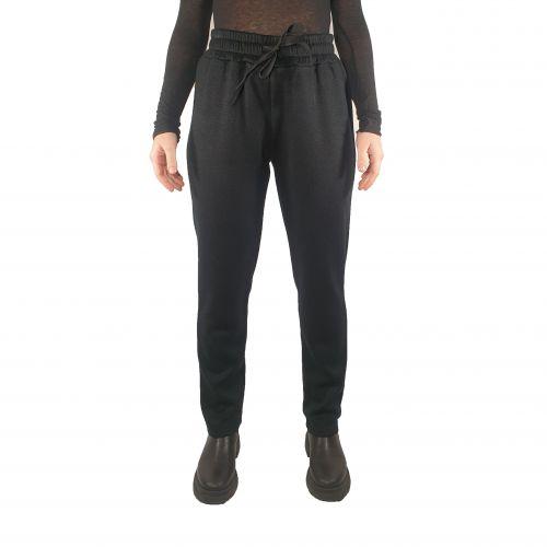bighet pantalone donna nero 2039 152