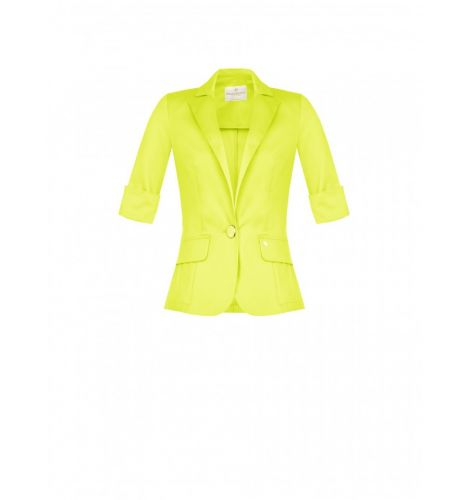 rinascimento giacca donna giallo CFC0103656003