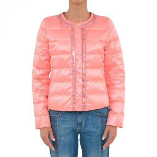 liu-jo piumino corto donna colore rosa peonia