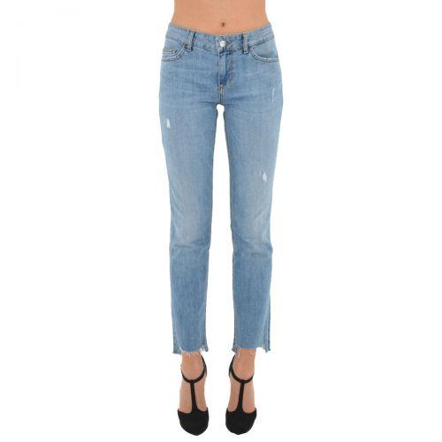 liu-jo jeans bottom up free reg. w. donna colore denim blue rox