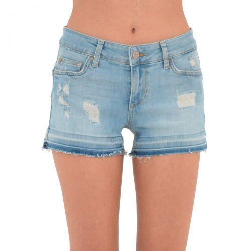 liu-jo shorts bottom up donna colore denim blue