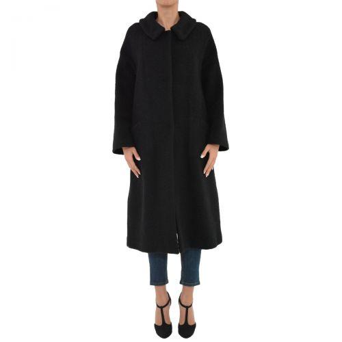 hache cappotto donna colore nero