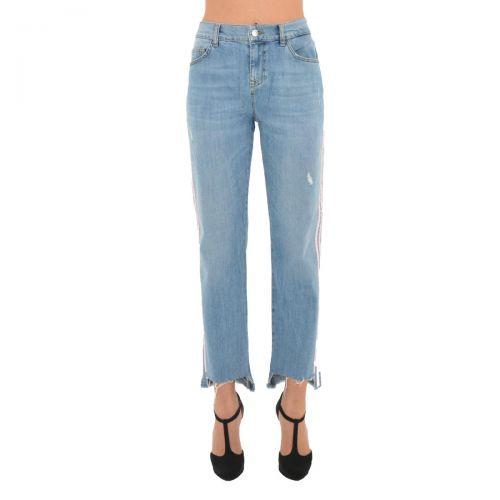 liu-jo jeans new precious reg. w. donna colore denim blue
