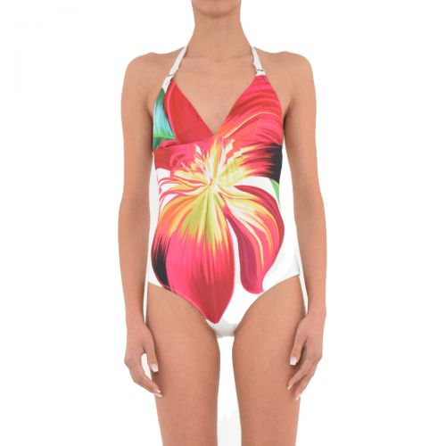 liu-jo costume intero donna colore stampa fiori v9562