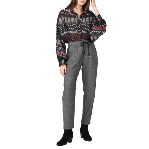 molly bracken pantalone donna nero T1397H21