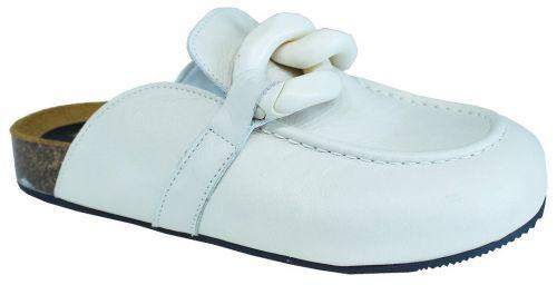 crown scarpe donna latte JW SABOT