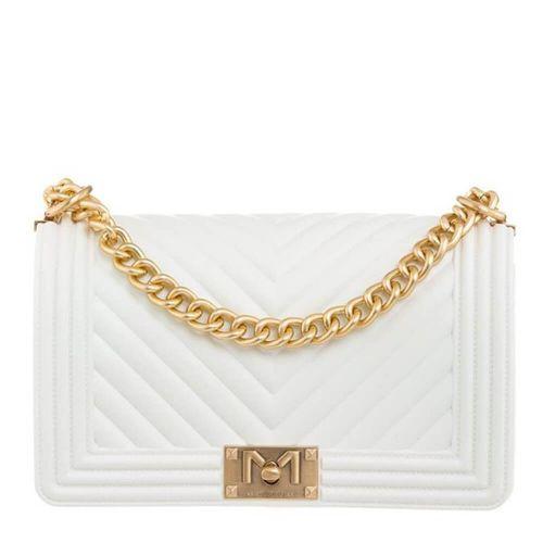 marc ellis FLAT M BIANCO borsa donna bianco