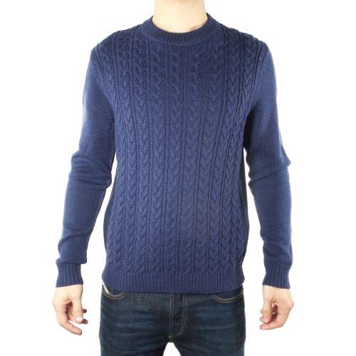 diktat DK87012 ZAFFIRO maglia uomo blu