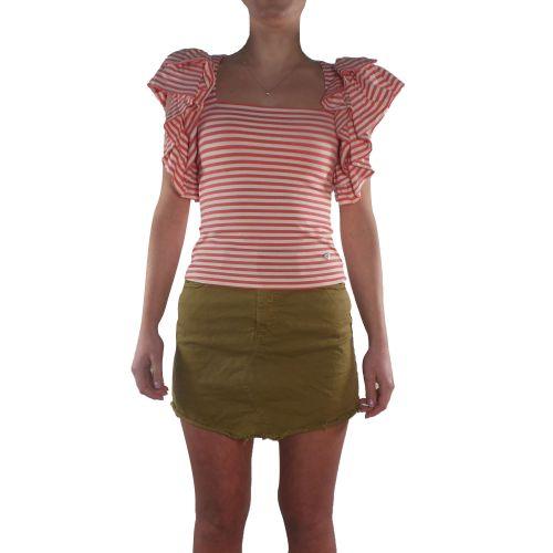 please M6400PL568 1350 t-shirt donna rosso