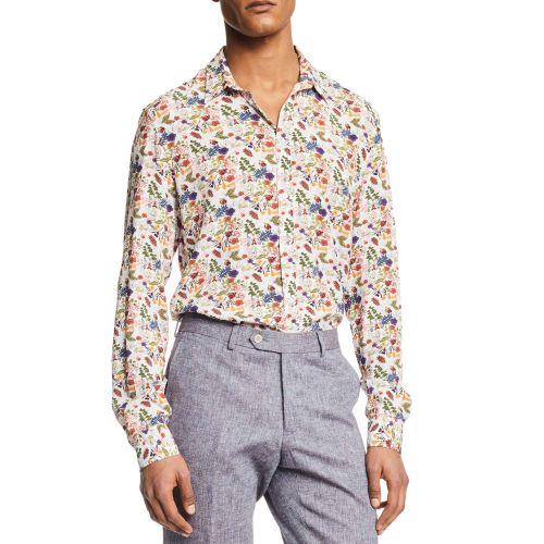 gaudi 111GU45018 116164-01 camicia uomo multicolor