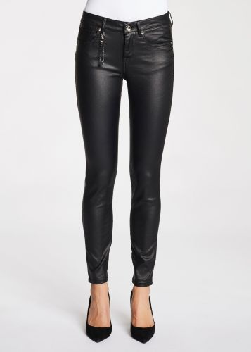 gaudi pantalone donna nero 121BD25022