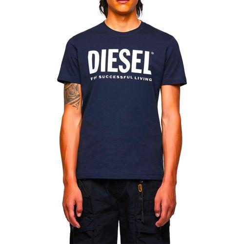 diesel t-shirt uomo blu T-DIEGOS-ECOLOGO