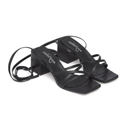 ottod'ame sandalo in pelle donna calzature dy4146
