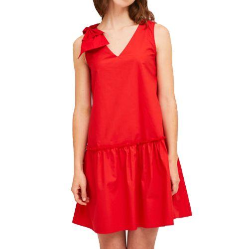 compania fantastica SS21HAN30 ROSSO abito donna rosso