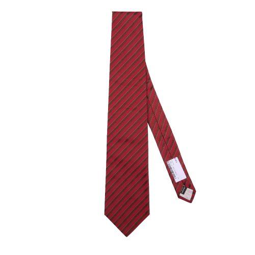 Bevilacqua Uomo Cravatta Rosso