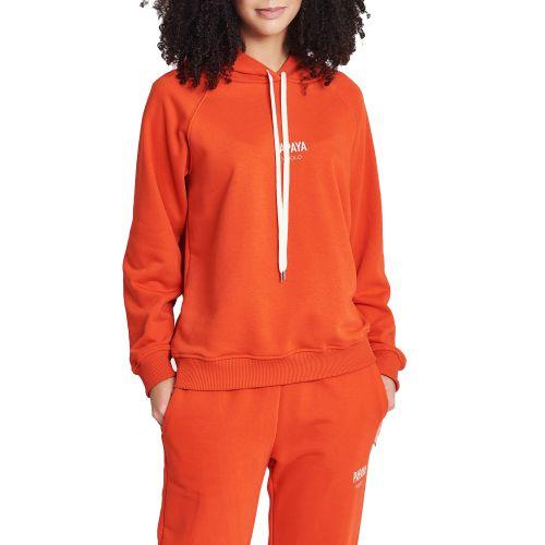 vicolo RH0073 PAPAYA felpa donna arancione