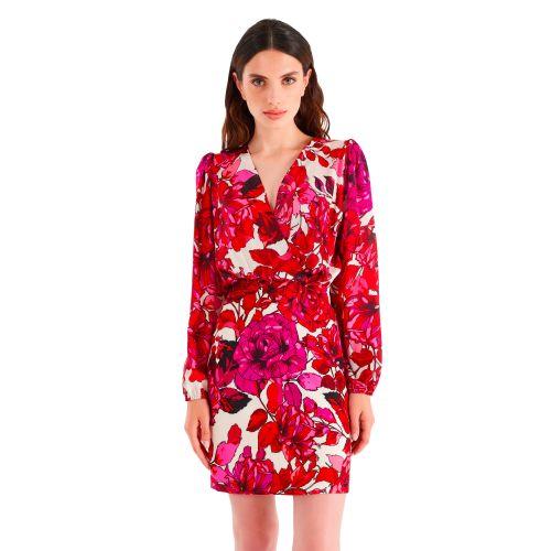 rinascimento abito donna rosso CFC0104813003