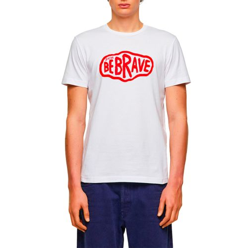 diesel t-shirt uomo bianco T-DIEGOS-K22
