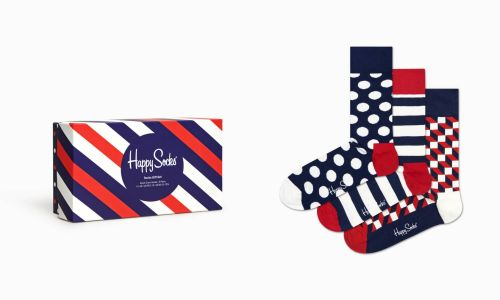 happy socks calzini donna multicolor PACK CLASSIC NAVY SOCKS GIFT/D
