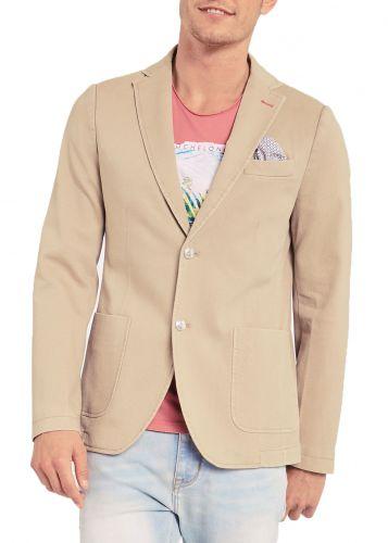 gaudi giacca uomo beige 011BU35023