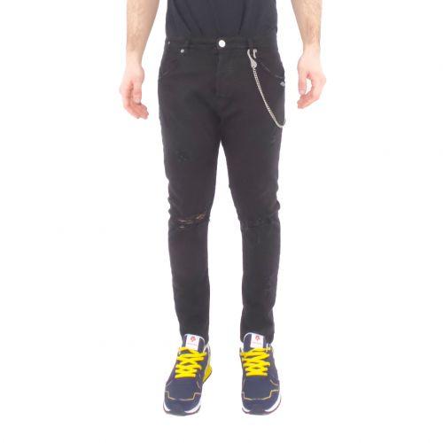 berna M 210068 1 jeans uomo nero