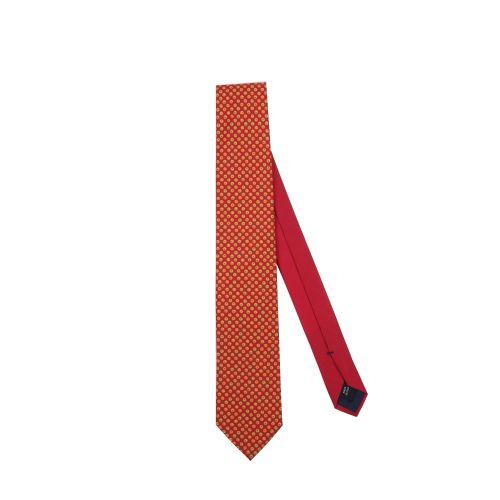 Eredi Chiarini Uomo Cravatta Rosso