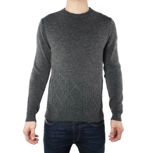 diktat DK87077 GRIGIO maglia uomo grigio