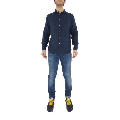 mark up MK993003 BLUE camicia uomo blu