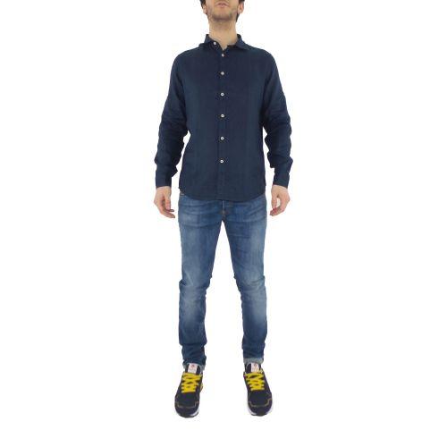 mark up MK993003 BLUE camicia uomo blu