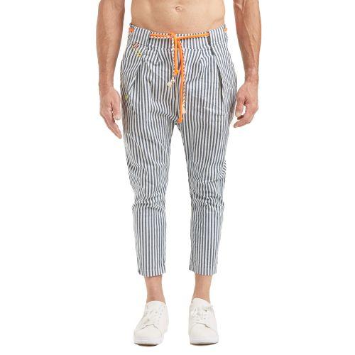 tematico TS21.035 U pantalone uomo bianco e blu