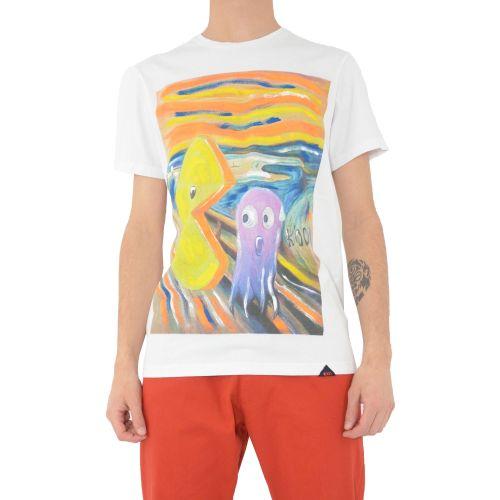 koon 6669 U t-shirt uomo bianco