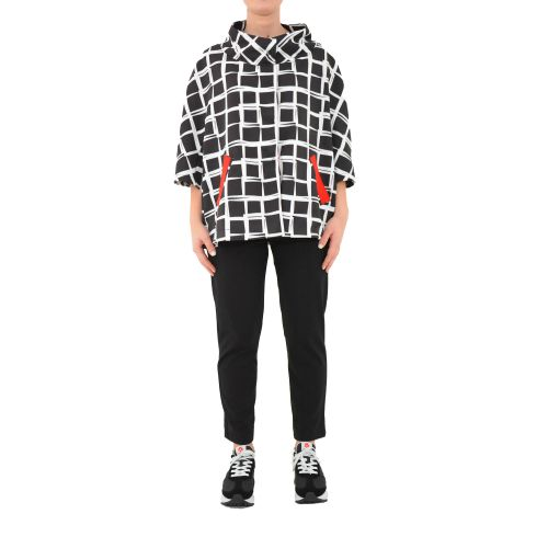 bighet 3700/3246 BAINCO NERO giacca donna bianco e nero