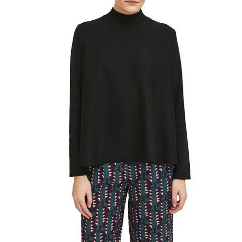 compania fantastica maglia donna nero WI21DEJ01