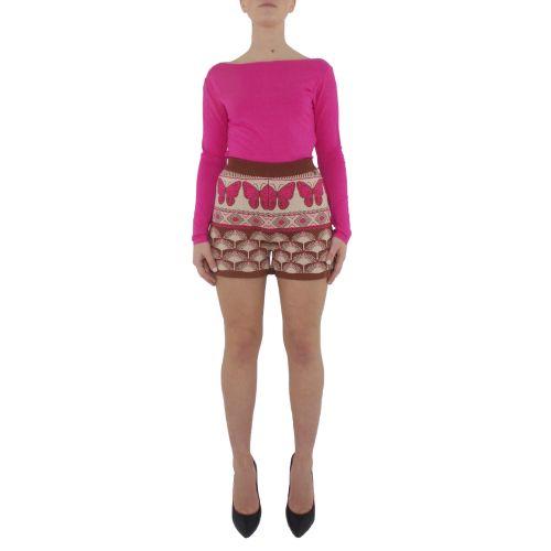 dixie D504R008 3998 shorts donna multicolor
