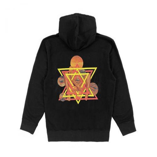 edwin fortress collage hoodie sweat uomo felpa con cappuccio I029304