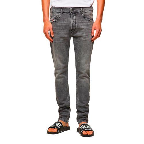 diesel jeans uomo denim grigio D-LUSTER