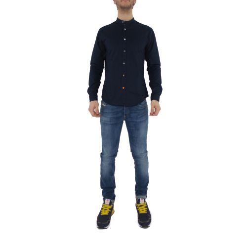 koon Q900-BOTT-PE21 3 camicia uomo blu