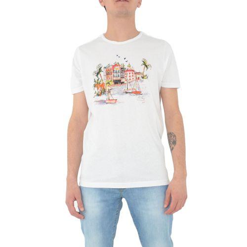mark up MK991075 BIANCO t-shirt uomo bianco