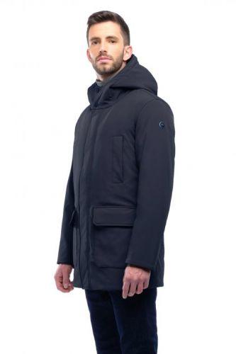 mixture X114 025 giaccone uomo blu
