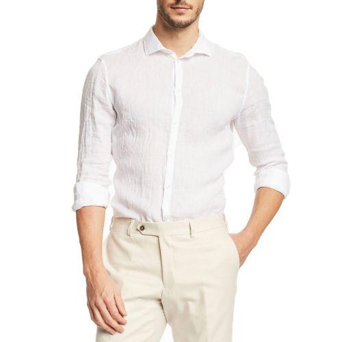 gaudi 111GU45005 2100 camicia uomo bianco