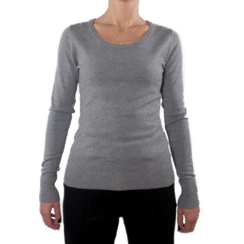 influencer J3560 GREY maglia donna grigio