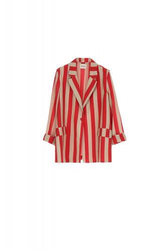 dixie giacca donna rosso india cammello JBZRPUA