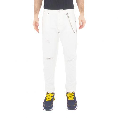 berna M 210068 2 jeans uomo bianco