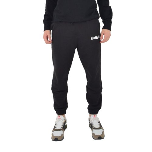 berna M 210094 1 pantalone uomo nero