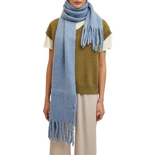 compania fantastica sciarpa donna celeste WI21SCR04