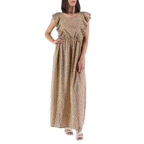 molly bracken LA660BE21 DELHI CREAM abito donna beige