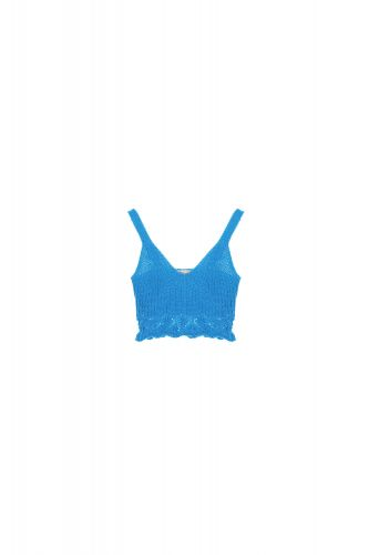 dixie R688R041 1600 top donna azzurro